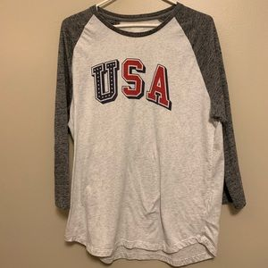 USA Quarter Sleeve Shirt (L)